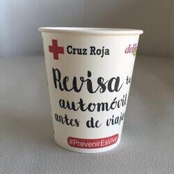 Vaso colección CruzRoja