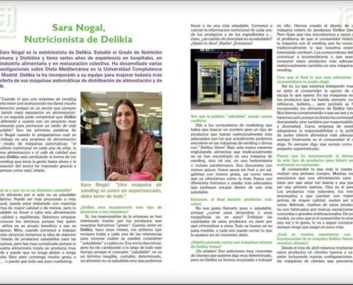 Revista de Sara Nogal