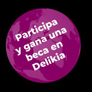 Imagen del mundo con eslogan de participa