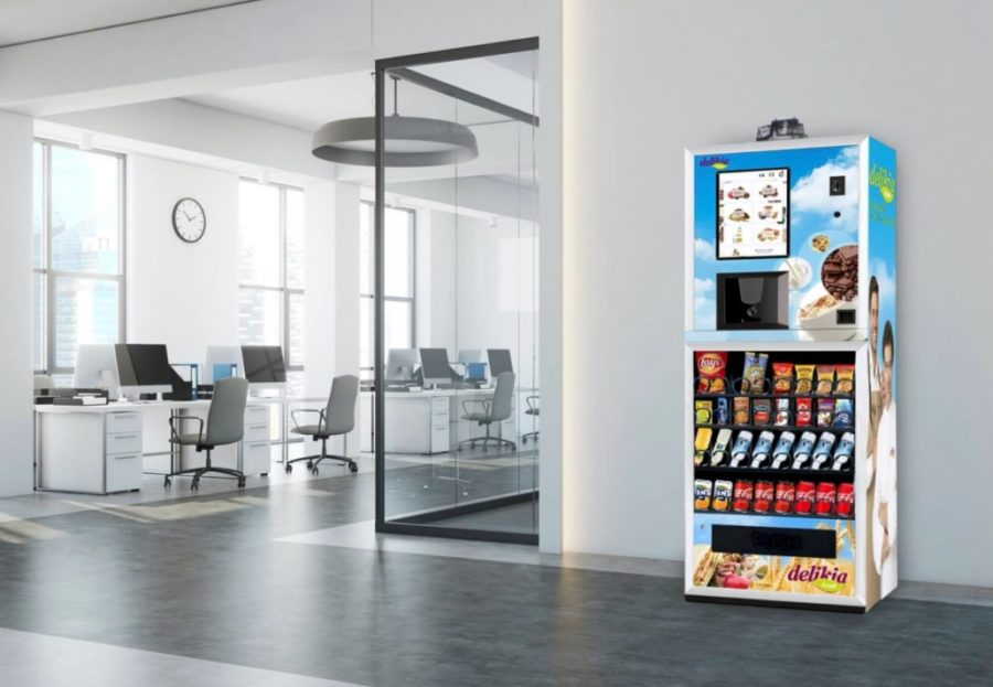 delikia fresh máquina de vending