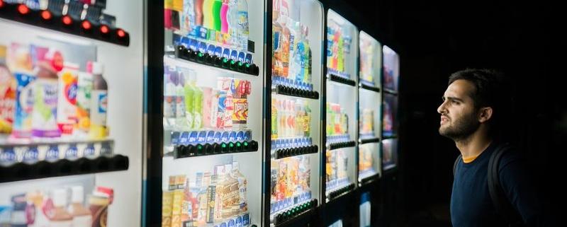 ¿Cuáles son los productos vending saludables más vendidos?