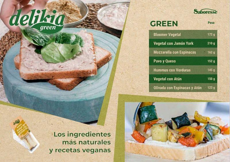 Delikia Green Sándwiches