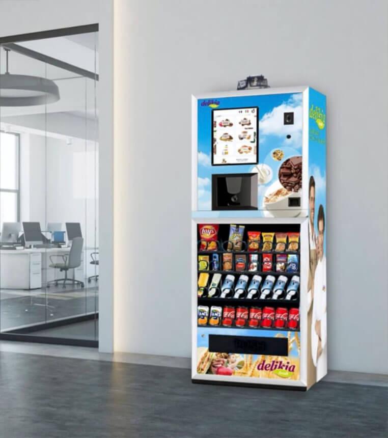 máquina vending delikia fresh - compact